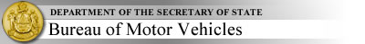 Department of the Secretary of State - Bureau of Motor Vehicles